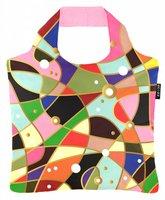 Ecozz opvouwbare shopper van gerecyclede Pet met print Art Deco 03