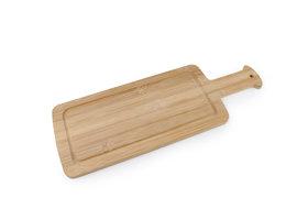 Bamboe snijplank met handvat. 40 x 14,5cm