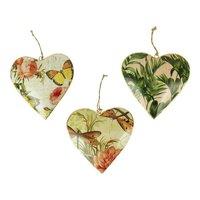 Imbarro grote metalen hart hangers : Hanging Hearts Nature