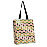 Shopper van gerecycled plastic Tulip Bloom
