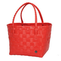 Handed By Shopper Paris Coral Red, 70% gereycled plastic
