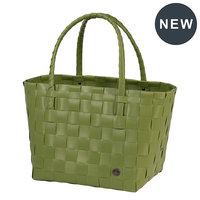 Handed By Shopper Paris Olive, 70% gereycled plastic