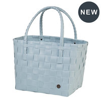 Handed By Shopper Paris Pastel Blue, 70% gereycled plastic