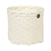 Handed By Basket Dimensional White, mandje van gerecycled plastic