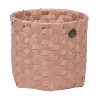Handed By Basket Dimensional Copper Blush, mandje van gerecycled plastic