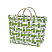 Handed By Shopper Refined Olive, 70% gerecycled plastic met binnenvak