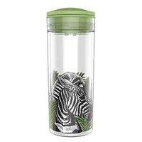 SlideCup Crystal Zebra, lekvrije drinkbeker. BPA vrij.