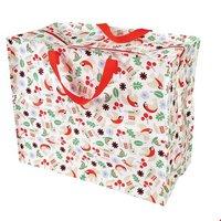 Jumbo Bag van gerecycled plastic Nordic Christmas