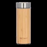 ReTulp Tumbler Bamboo Thermosfles - Bamboe drinkbeker 420ml