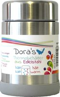 Dora's thermos lunchcontainer - RVS lunchbox 450ml