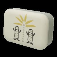 Fresk Bamboe Lunchbox - broodtrommel pinguïn