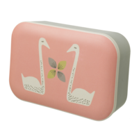 Fresk Bamboe Lunchbox - broodtrommel met zwanen
