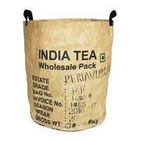 Tea Basket Large, mand van gerecyclede thee zakken