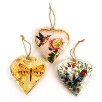 Imbarro metalen hart hangertjes - Hearts Ami
