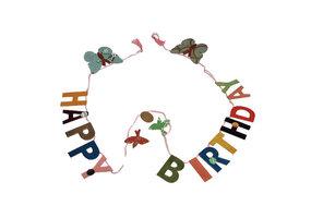 FairTrade papierslinger Happy Birthday