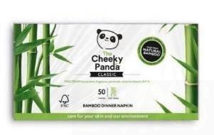 The Cheeky Panda Bamboo Tissues, Tissue doos 80 stuks