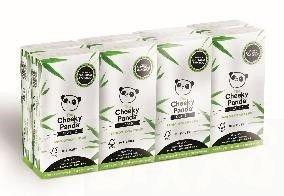 The Cheeky Panda Bamboo Pocket Tissues, 8x10 zakdoekjes