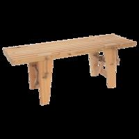EcoFurn bankje, Eco Bench naturel Lariks hout