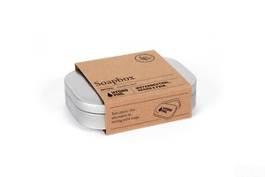Fair & Vegan zeepbakje van roestvrij staal