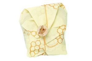 Bee's Wrap: Sandwich Foodwrap, herbruikbare bijenwas doek.