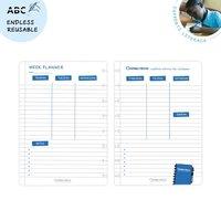 Correctbook A5 weekplanner, set 5 bladen