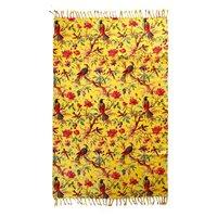 Imbarro Katoenen Hammam towel Paradise - Yellow