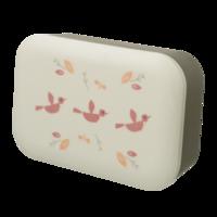 Fresk Bamboe Lunchbox - broodtrommel met vogeltjes