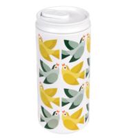REX London Eco Can Love Birds, drinkblik/beker van bioplastic