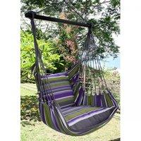 FairTrade Hangmatstoel inclusief kussen