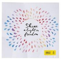 Servet Shine a light on Freedom van Amnesty