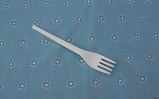 CPLA vork wit 16cm, voordeelpak 50 bio vorken