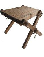 EcoFurn Lilli table, tafeltje in bruin geolied dennenhout