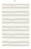 Placemat/handdoek Biologisch katoen en linnen, Beige blad 35x50cm