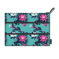 Ecozz Etui Zip Bag Tropico van gerecycled plastic.