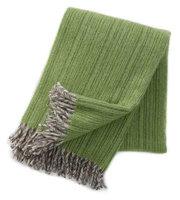 Klippan deken van Eco wol Björk groen