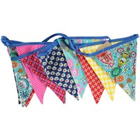 Global Affairs Fairtrade Multicolour vlaggenlijn van stof