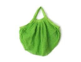 AhTable! Boodschappen netje van Organisch katoen groen