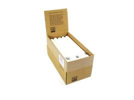 FairTrade Dinerkaars wit, doos 25 stuks