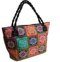 FairTrade Hmong shopper/strandtas