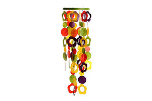 Fairtrade Capiz Bloemenhanger multicolour
