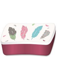 BambooFriends Bamboe Lunchbox Feather - Eco broodtrommel