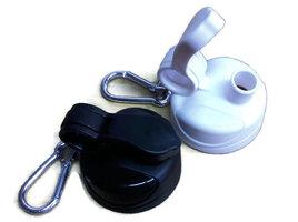 Tulper sportdop voor RVS drinkfles 400ml en 500ml, keuze uit wit of zwart.