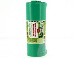 Afvalzak Ecologisch, 100 liter 95x82cm rol 10 stuks