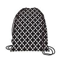 Ecozz opvouwbare rugzak Easy Travel Squares Black
