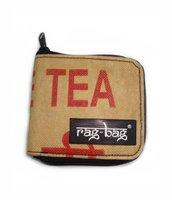 RagBag Tamil Nadu Wallet, portemonnee van gerecyclede Theezakken