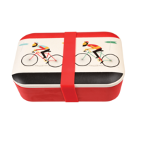 Rex London grote Bamboe Lunchbox Le Bicycle - Eco broodtrommel