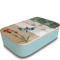 BambooFriends grote Bamboe Lunchbox Dragon Fly - Bio broodtrommel