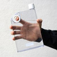 ReTulp Messenger Bottle wit, Plat water fles 380ml