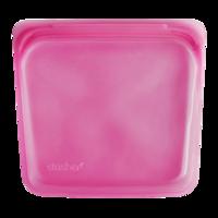Stasher Bag Raspberry - Plastic vrij bewaar en kook zakje