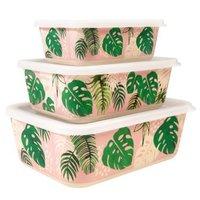 Set Bamboe voorraad dozen